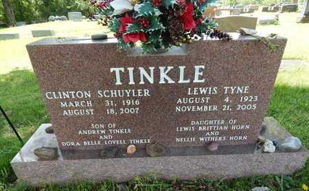 TINKLE, CLINTON SCHUYLER - Boone County, Arkansas | CLINTON SCHUYLER TINKLE - Arkansas Gravestone Photos