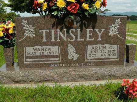 TINSLEY, ARLIN G. - Boone County, Arkansas | ARLIN G. TINSLEY - Arkansas Gravestone Photos