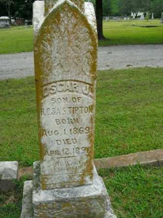 TIPTON, OSCAR J. - Boone County, Arkansas | OSCAR J. TIPTON - Arkansas Gravestone Photos
