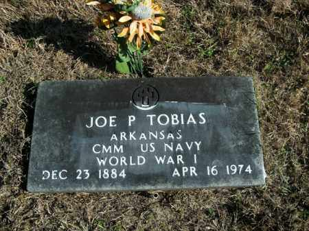 TOBIAS  (VETERAN WWI), JOE P. - Boone County, Arkansas | JOE P. TOBIAS  (VETERAN WWI) - Arkansas Gravestone Photos