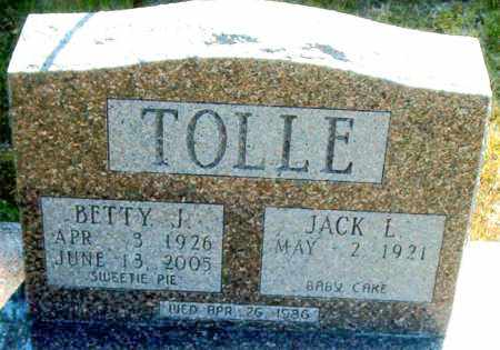 TOLLE, BETTY  J. - Boone County, Arkansas | BETTY  J. TOLLE - Arkansas Gravestone Photos