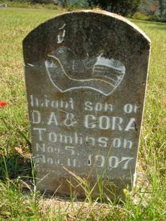 TOMLINSON, INFANT SON - Boone County, Arkansas | INFANT SON TOMLINSON - Arkansas Gravestone Photos