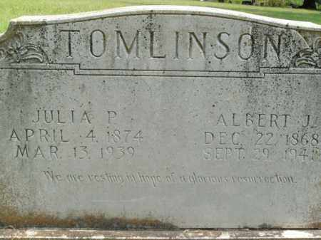 TOMLINSON, ALBERT J. - Boone County, Arkansas | ALBERT J. TOMLINSON - Arkansas Gravestone Photos