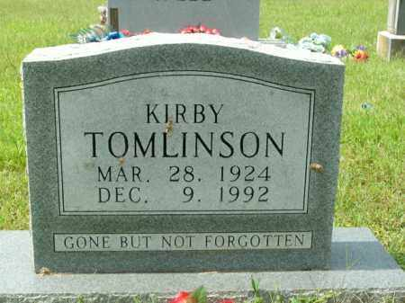 TOMLINSON, KIRBY - Boone County, Arkansas | KIRBY TOMLINSON - Arkansas Gravestone Photos