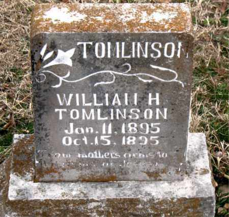 TOMLINSON, WILLIAM H. - Boone County, Arkansas | WILLIAM H. TOMLINSON - Arkansas Gravestone Photos