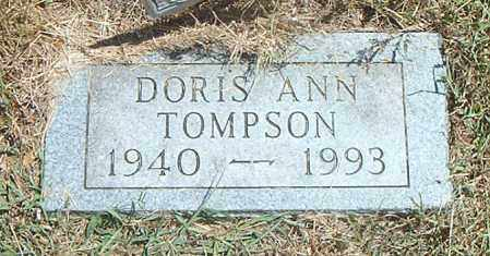 TOMPSON, DORIS ANN - Boone County, Arkansas | DORIS ANN TOMPSON - Arkansas Gravestone Photos