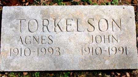 TORKELSON, AGNES - Boone County, Arkansas | AGNES TORKELSON - Arkansas Gravestone Photos