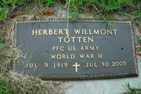 TOTTEN  (VETERAN WWII), HERBERT WILLMONT - Boone County, Arkansas | HERBERT WILLMONT TOTTEN  (VETERAN WWII) - Arkansas Gravestone Photos