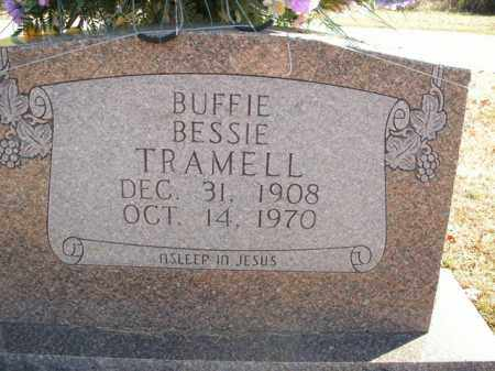 TRAMELL, BUFFIE BESSIE - Boone County, Arkansas | BUFFIE BESSIE TRAMELL - Arkansas Gravestone Photos