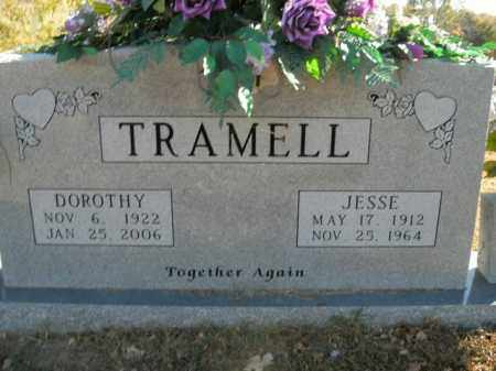 TRAMELL, JESSE - Boone County, Arkansas | JESSE TRAMELL - Arkansas Gravestone Photos