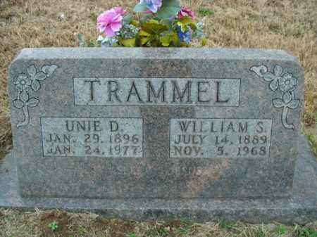 TRAMMEL, WILLIAM S. - Boone County, Arkansas | WILLIAM S. TRAMMEL - Arkansas Gravestone Photos