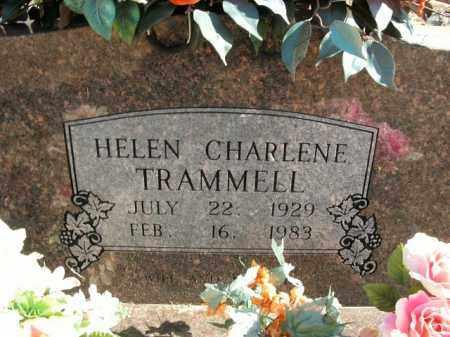 ARNOLD TRAMMELL, HELEN CHARLENE - Boone County, Arkansas | HELEN CHARLENE ARNOLD TRAMMELL - Arkansas Gravestone Photos