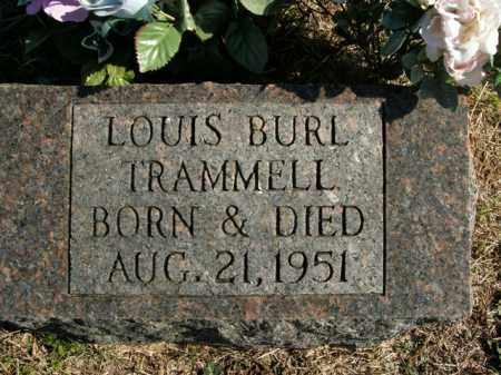 TRAMMELL, LOUIS BURL - Boone County, Arkansas | LOUIS BURL TRAMMELL - Arkansas Gravestone Photos