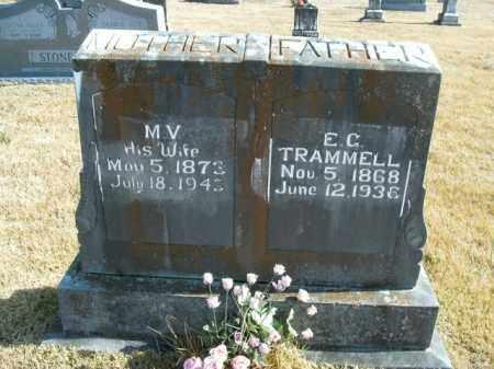 POINDEXTER TRAMMELL, MARGARET VILINA - Boone County, Arkansas | MARGARET VILINA POINDEXTER TRAMMELL - Arkansas Gravestone Photos