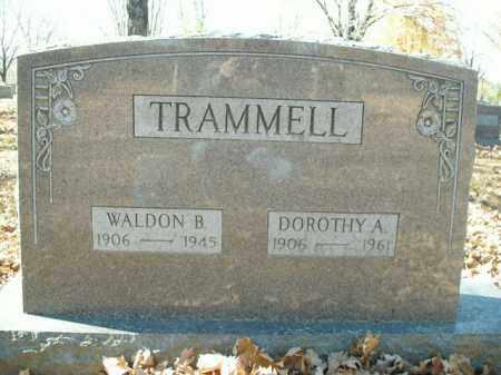 TRAMMELL, DOROTHY A. - Boone County, Arkansas | DOROTHY A. TRAMMELL - Arkansas Gravestone Photos