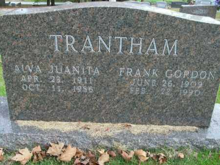 TRANTHAM, FRANK GORDON - Boone County, Arkansas | FRANK GORDON TRANTHAM - Arkansas Gravestone Photos