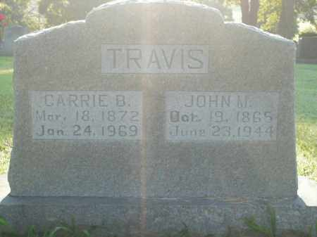 TRAVIS, JOHN M. - Boone County, Arkansas | JOHN M. TRAVIS - Arkansas Gravestone Photos