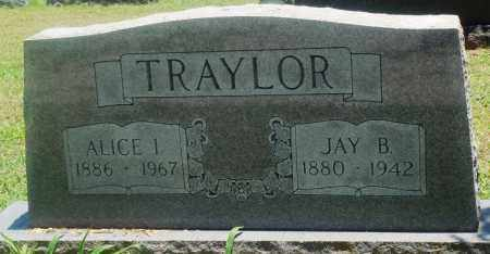 TRAYLOR, ALICE I - Boone County, Arkansas | ALICE I TRAYLOR - Arkansas Gravestone Photos