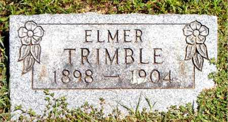 TRIMBLE, ELMER - Boone County, Arkansas | ELMER TRIMBLE - Arkansas Gravestone Photos