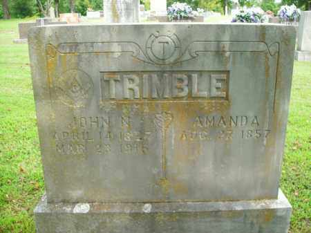 TRIMBLE, JOHN N. - Boone County, Arkansas | JOHN N. TRIMBLE - Arkansas Gravestone Photos