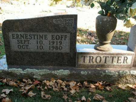 TROTTER, ERNESTINE - Boone County, Arkansas | ERNESTINE TROTTER - Arkansas Gravestone Photos