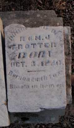 TROTTER, INFANT CHILD - Boone County, Arkansas | INFANT CHILD TROTTER - Arkansas Gravestone Photos