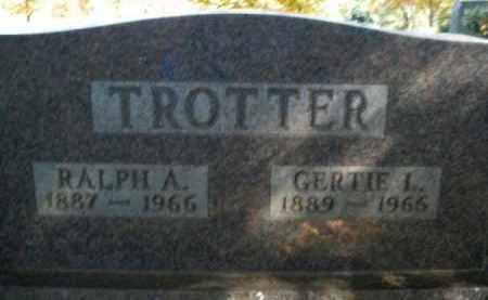 TROTTER, GERTIE L. - Boone County, Arkansas | GERTIE L. TROTTER - Arkansas Gravestone Photos