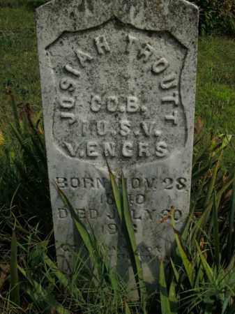 TROUTT  (VETERAN UNION), JOSIAH - Boone County, Arkansas | JOSIAH TROUTT  (VETERAN UNION) - Arkansas Gravestone Photos