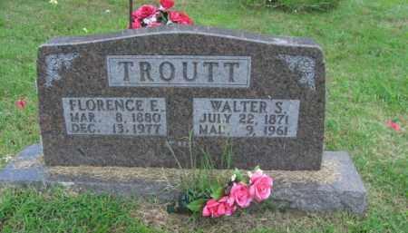 TROUTT, FLORENCE ELZADA - Boone County, Arkansas | FLORENCE ELZADA TROUTT - Arkansas Gravestone Photos