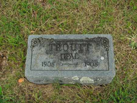 TROUTT, OPAL - Boone County, Arkansas | OPAL TROUTT - Arkansas Gravestone Photos