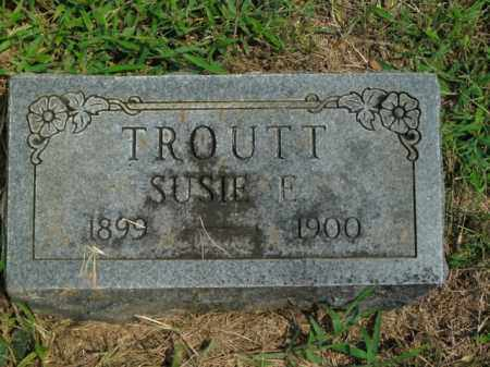 TROUTT, SUSIE E. - Boone County, Arkansas | SUSIE E. TROUTT - Arkansas Gravestone Photos