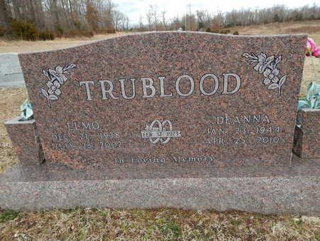 TRUBLOOD, ELMO - Boone County, Arkansas | ELMO TRUBLOOD - Arkansas Gravestone Photos