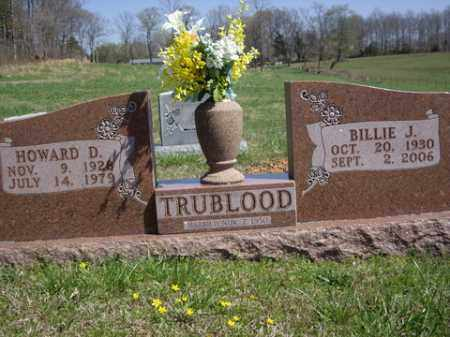 CLARK TRUBLOOD, BILLIE JO - Boone County, Arkansas | BILLIE JO CLARK TRUBLOOD - Arkansas Gravestone Photos