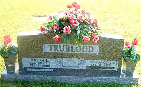 TRUBLOOD, WILLIAM  L. - Boone County, Arkansas | WILLIAM  L. TRUBLOOD - Arkansas Gravestone Photos