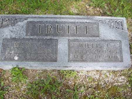 TRUITT, WILLIS C. - Boone County, Arkansas | WILLIS C. TRUITT - Arkansas Gravestone Photos
