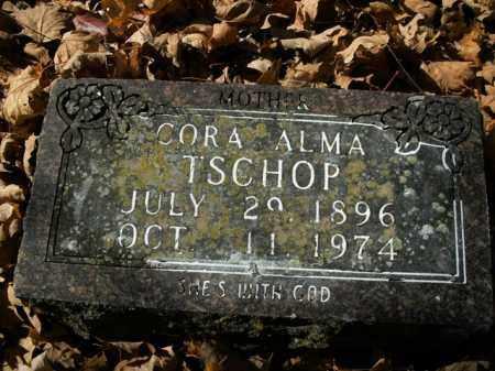 TSCHOP, CORA ALMA - Boone County, Arkansas | CORA ALMA TSCHOP - Arkansas Gravestone Photos