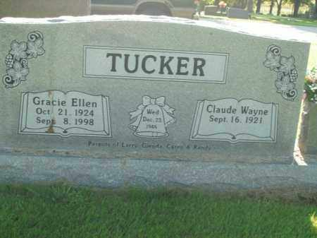 TUCKER, GRACIE ELLEN - Boone County, Arkansas | GRACIE ELLEN TUCKER - Arkansas Gravestone Photos