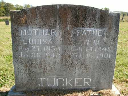 TUCKER, WILLIAM W - Boone County, Arkansas | WILLIAM W TUCKER - Arkansas Gravestone Photos