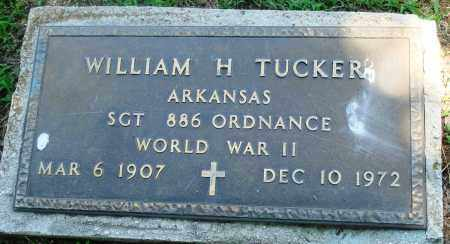 TUCKER (VETERAN WWII), WILLIAM H - Boone County, Arkansas | WILLIAM H TUCKER (VETERAN WWII) - Arkansas Gravestone Photos