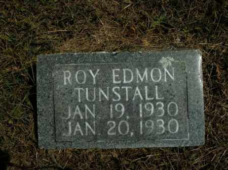 TUNSTALL, ROY EDMON - Boone County, Arkansas | ROY EDMON TUNSTALL - Arkansas Gravestone Photos