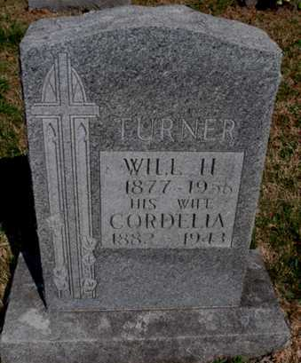 TURNER, WILL H. - Boone County, Arkansas | WILL H. TURNER - Arkansas Gravestone Photos