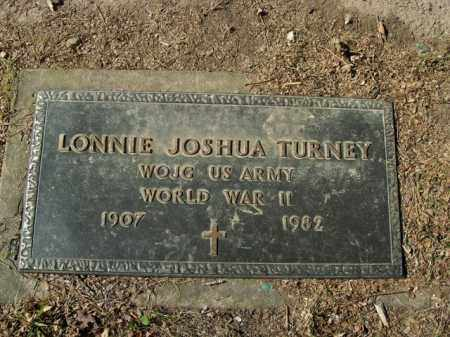 TURNEY  (VETERAN WWII), LONNIE JOSHUA - Boone County, Arkansas | LONNIE JOSHUA TURNEY  (VETERAN WWII) - Arkansas Gravestone Photos