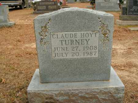 TURNEY, CLAUDE HOYT - Boone County, Arkansas | CLAUDE HOYT TURNEY - Arkansas Gravestone Photos