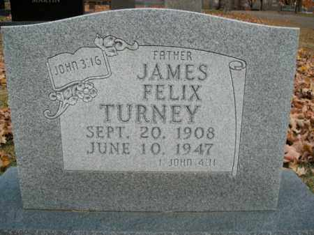 TURNEY, JAMES FELIX - Boone County, Arkansas | JAMES FELIX TURNEY - Arkansas Gravestone Photos