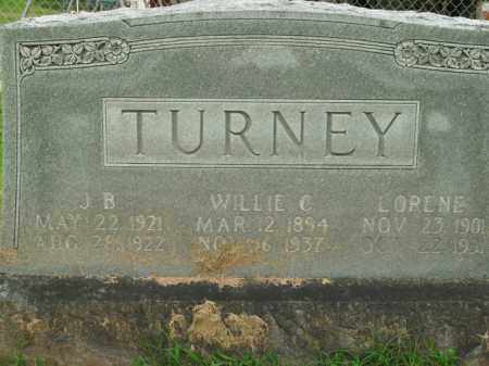 TURNEY, WILLIE C. - Boone County, Arkansas | WILLIE C. TURNEY - Arkansas Gravestone Photos