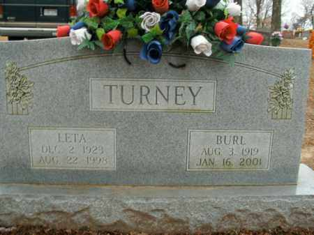 TURNEY, BURL - Boone County, Arkansas | BURL TURNEY - Arkansas Gravestone Photos