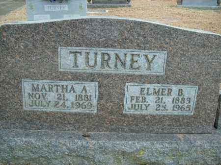 TURNEY, MARTHA ALICE - Boone County, Arkansas | MARTHA ALICE TURNEY - Arkansas Gravestone Photos