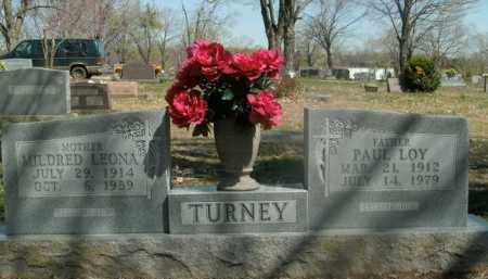 TURNEY, MILDRED LEONA - Boone County, Arkansas | MILDRED LEONA TURNEY - Arkansas Gravestone Photos