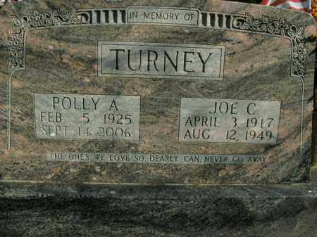 TURNEY, POLLY A. - Boone County, Arkansas | POLLY A. TURNEY - Arkansas Gravestone Photos