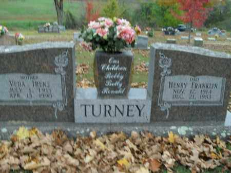 TURNEY, VEDA IRENE - Boone County, Arkansas | VEDA IRENE TURNEY - Arkansas Gravestone Photos